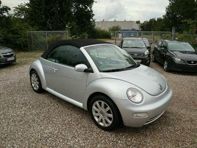 brugt VW Beetle New1,6 Cabriolet