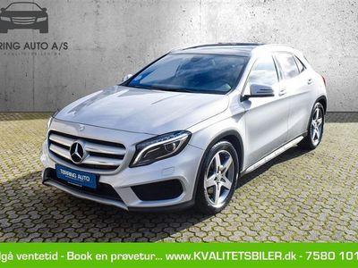 brugt Mercedes GLA250 2,0 7G-DCT 211HK Van 7g Aut. - Varebil - sølvmetal