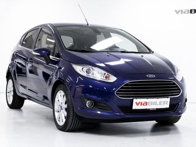 used Ford Fiesta 1,0 EcoBoost Titanium Start/Stop 125HK 5d