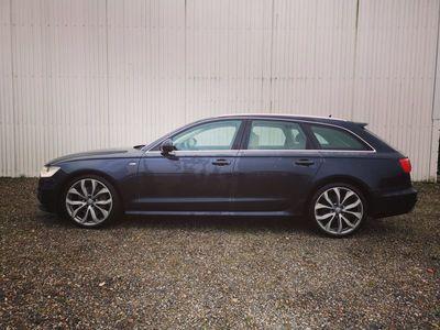 brugt Audi A6 3,0 TDi 313 S-line Avant quat Tipt 5d