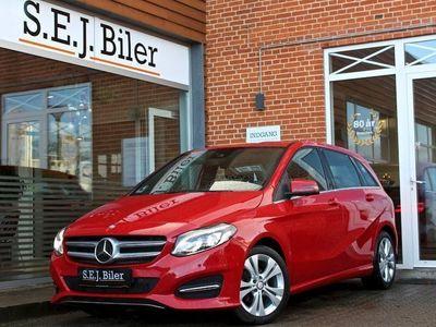 brugt Mercedes B180 d 1,5 Business 109HK aut 5d