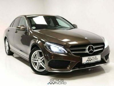 brugt Mercedes C220 2,2 BlueTEC AMG Line aut. 4d
