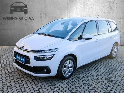 brugt Citroën Grand C4 Picasso 1,6 Blue HDi Seduction EAT6 start/stop 120HK 6g Aut. - Personbil - hvid - 7 pers.