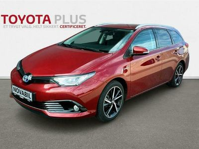brugt Toyota Auris Touring Sports 1,8 Hybrid H2 Selected 136HK Stc Aut. A++