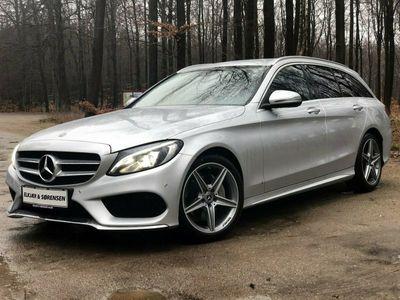 used Mercedes C220 d 2,2 AMG Line stc. aut.