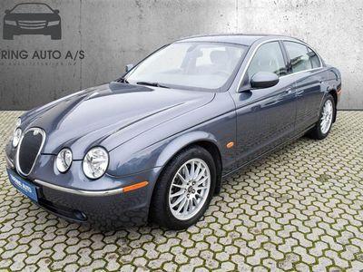 brugt Jaguar S-Type 3,0 V6 DELUXE 238HK Aut. - Personbil - gråmetal