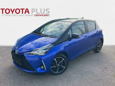 brugt Toyota Yaris 1,5 B/EL H3 Limited E-CVT 100HK 5d