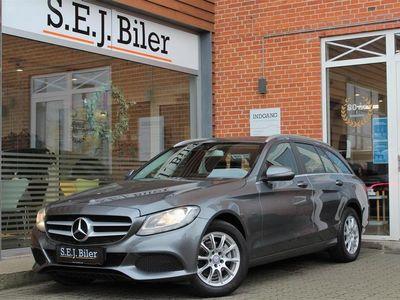 brugt Mercedes C220 d T 2,1 Bluetec Business 7G-Tronic Plus 170HK Stc Aut. A+