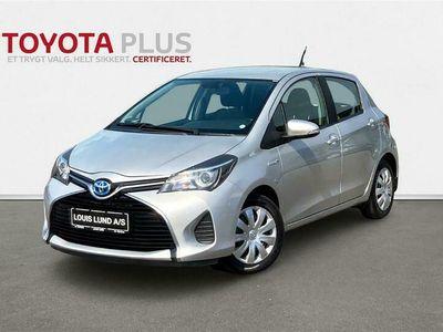 brugt Toyota Yaris Hybrid 1,5 Hybrid E-CVT 100HK 5d Trinl. Gear