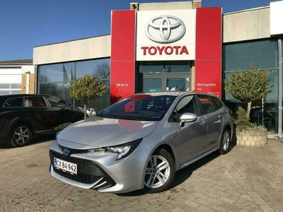 brugt Toyota Corolla Touring Sports 1,8 B/EL H1 Plus Business E-CVT 122HK Stc Trinl. Gear