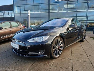 brugt Tesla Model S P90D el EL Ludicrous 4x4 762HK 5d Aut.