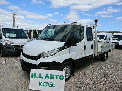 brugt Iveco Daily 3,0 35S17 Mandskabsvogn m/lad AG8
