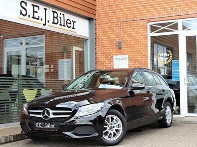 brugt Mercedes C200 d T 2,1 CDI 7G-Tronic Plus 136HK Stc 7g Aut. A+