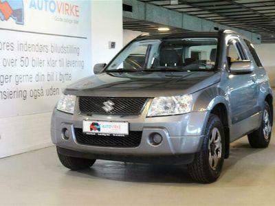 brugt Suzuki Grand Vitara 1,6 GL 4x4 106HK 3d