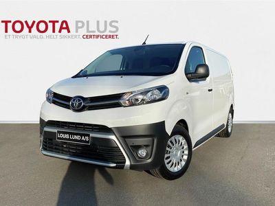 brugt Toyota Proace Medium 2,0 D Comfort Masterpakke 120HK Van 8g Aut. E