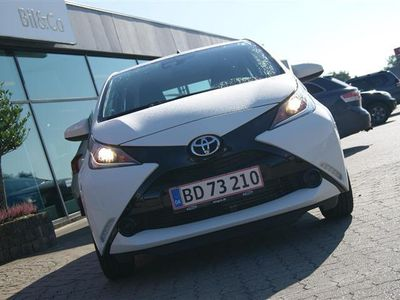 brugt Toyota Aygo 1,0 VVT-I X-Play + Touch Safety Sense X-Auto 69HK 5d Aut.