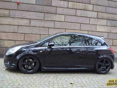 brugt Opel Corsa 1,6 GSI 2008 200 Hk