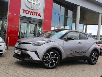 brugt Toyota C-HR 1,8 B/EL C-LUB Selected + Premium Multidrive S 122HK 5d Aut.