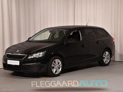 brugt Peugeot 308 SW 1,6 BlueHDi Active 120HK Stc