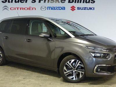brugt Citroën C4 SpaceTourer Grand1,5 Blue HDi Exclusive EAT8 start/stop 130HK 8g Aut.