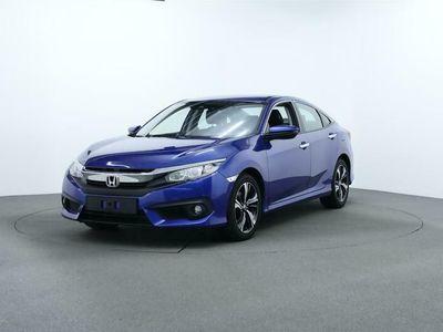 brugt Honda Civic 1,6 i-DTEC Elegance Navi 120HK 6g A++