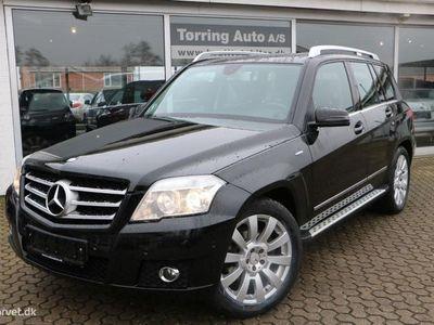 brugt Mercedes GLK220 CDI 4M BE 170HK