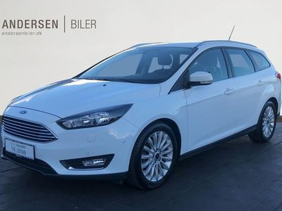 brugt Ford Focus 1,0 EcoBoost Titanium Fun 125HK 5d 6g