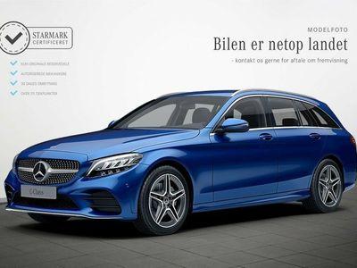 gebraucht Mercedes C300 d 2,0 AMG Line stc. aut.