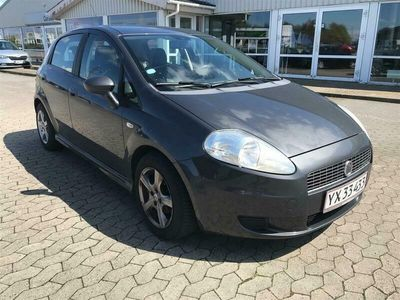 brugt Fiat Grande Punto 1,3 JTD Active 75HK 5d