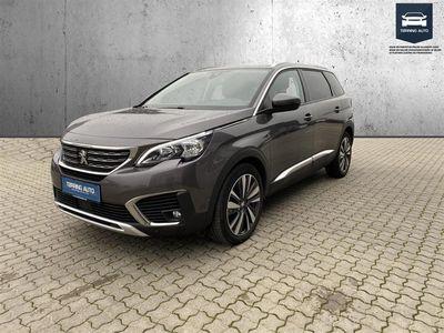 brugt Peugeot 5008 1,5 BlueHDi Allure EAT8 130HK 8g Aut. - Personbil - Brunmetal - 7 pers.