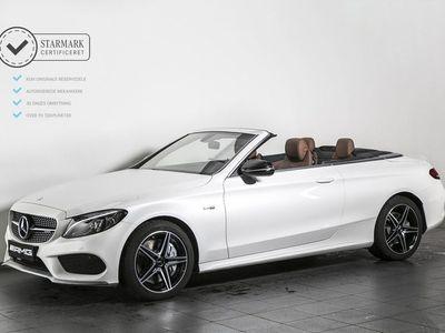 brugt Mercedes C43 AMG 3,0 AMG Cabriolet aut. 4-M