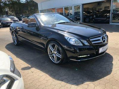 brugt Mercedes E200 8 CGi Cabriolet aut. BE