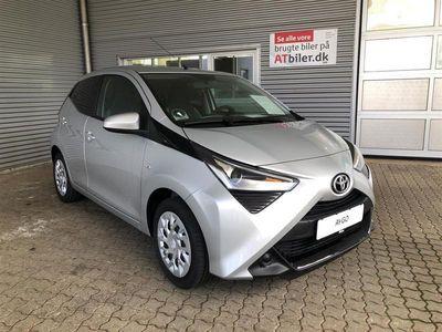 brugt Toyota Aygo 1.0 benzin (72 hk) aut. gear x-shift x-pression