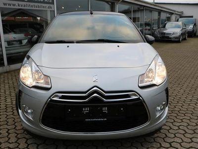 brugt Citroën DS3 1,2 VTi Design 82HK Cabr.