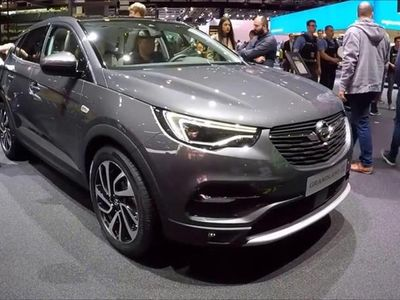 brugt Opel Grandland X 1,2 Direct Injection Turbo Enjoy Start/Stop 130HK 5d 6g - Personbil - gråmetal