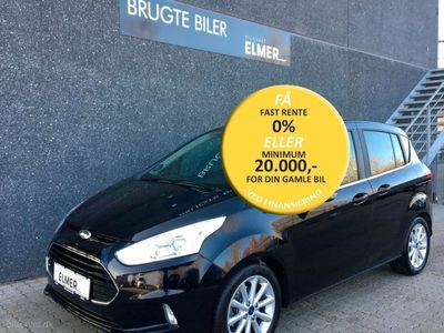 brugt Ford B-MAX 1,0 EcoBoost Titanium Start/Stop 100HK