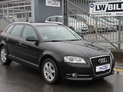 brugt Audi A3 Sportback 2,0 TDi 140 Attraction S-tr.