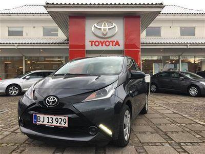 brugt Toyota Aygo 1,0 VVT-I X-Play X-Auto 69HK 5d Aut.