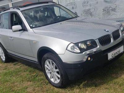 brugt BMW X3 d 3,0 D 4x4 218HK Van 6g Aut.