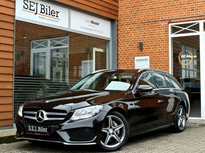 usata Mercedes C220 d 2,1 AMG Line stc. 170HK st.car