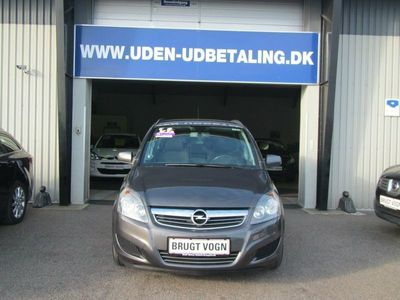 brugt Opel Zafira 1,7 CDTi 110 Enjoy eco