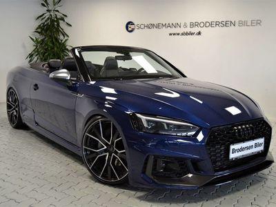 brugt Audi A5 Cabriolet 3,0 TDi 286 Sport quat Tipt