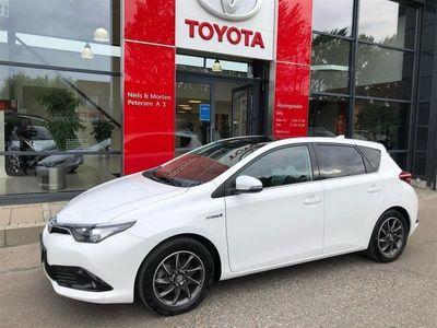 brugt Toyota Auris Hybrid 1,8 B/EL Comfort Skyview 136HK 5d Aut.