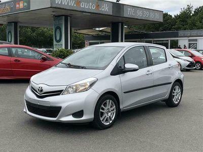 brugt Toyota Yaris 1,3 aut.CVT. 5D 99HK 5d