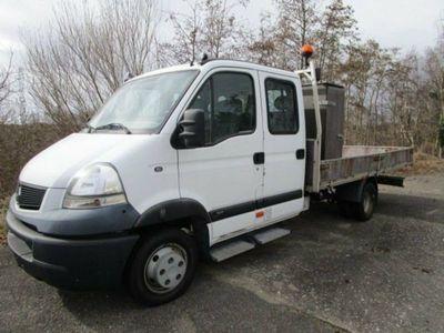 brugt Renault Master 3,0 dXi 160.35 Mandskabsvogn
