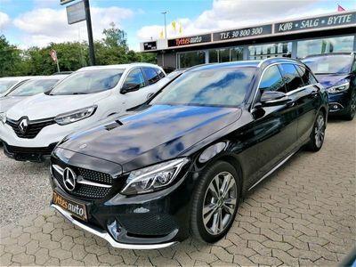 brugt Mercedes C300 h 2,2 AMG Line stc. aut.