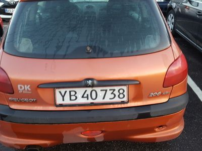 brugt Peugeot 206 2,0 HDI