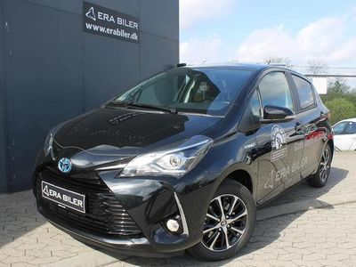 brugt Toyota Yaris Hybrid 1,5 Hybrid Premium Safety Sense E-CVT 100HK 5d