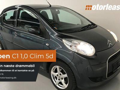 gebraucht Citroën C1 1,0i Clim 5d