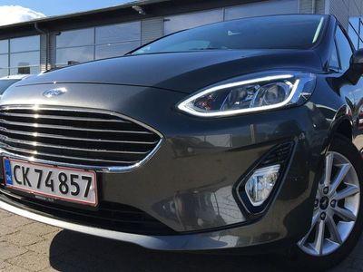 brugt Ford Fiesta 1,0 EcoBoost Titanium Start/Stop 100HK 5d 6g